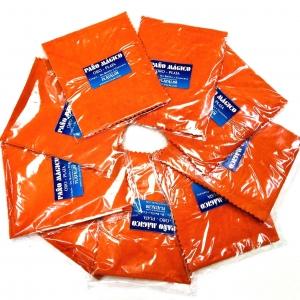PAÑOs para limpiar Joyas CHICO Naranja x 12