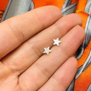 Arito Estrella chica 6mm de plata 925